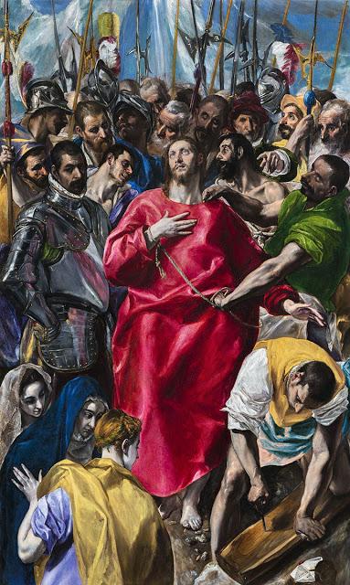 El Expolio. El Greco (Domenikos Theotokópulos) El_exp10
