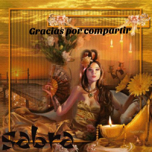 GRACIAS POR COMPARTIR... SABRA Ffc5bb10