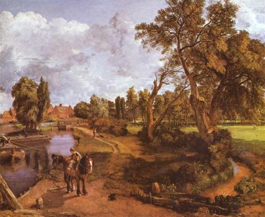 Molino de Flatford. John Constable Flatfo10
