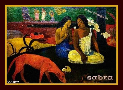 FIRMAS DE SABRA ARTÍSTICAS Gaugui10