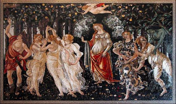 """""""La primavera"""". Sandro Botticelli Il_57010"""