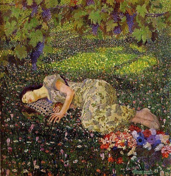 QUIETUD DE AMOR Klimt_10