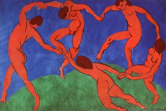 La danza de Matisse: análisis La-dan14