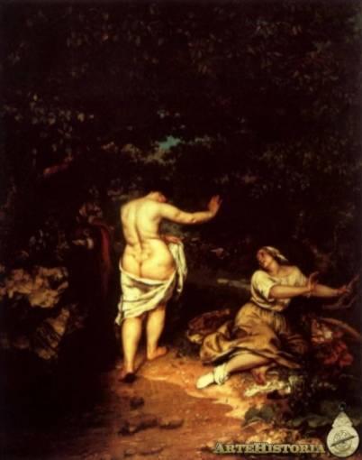 Las bañistas-Courbet Las20b10