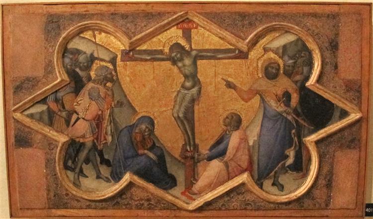 Crucifixion. Luca di Tommè Luca-d10