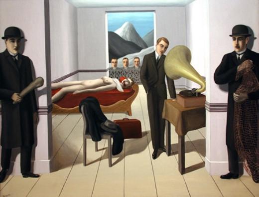 El asesino amenazado. René Magritte Magrit11