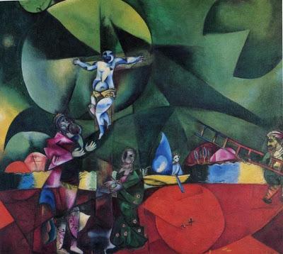 GÓLGOTA. Marc Chagall Marc-c10