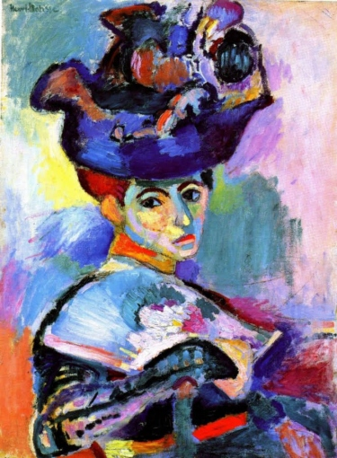Mujer con sombrero. Henri Matisse Matiss14