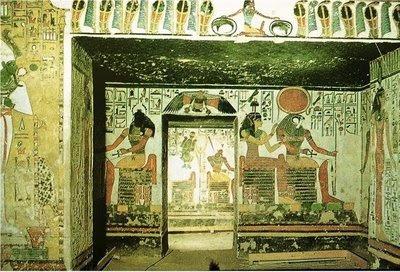 PINTURA EGIPCIA Nefert10