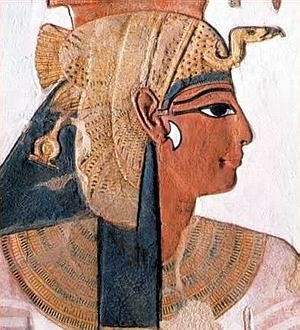 PINTURA EGIPCIA Nefert11