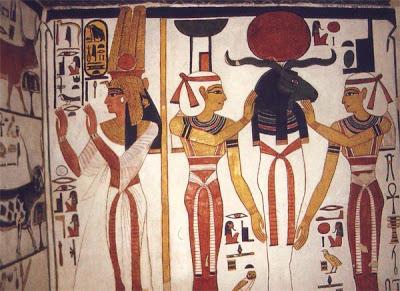 PINTURA EGIPCIA Nefert12