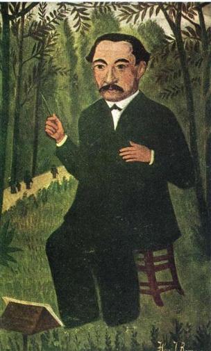 Orchestra Conductor. Henri Rousseau Not_de10