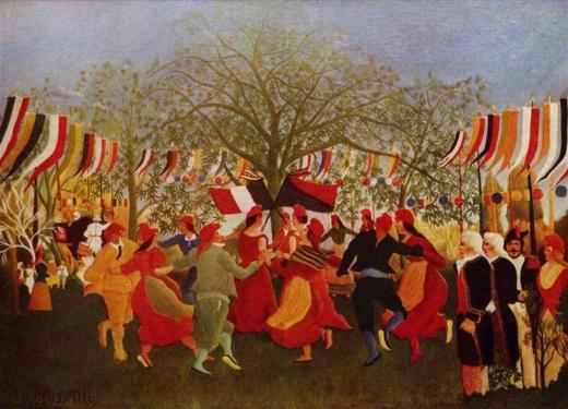 El centenario de la independencia. Henri Rosseau Rossea12