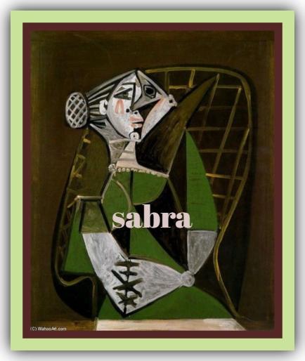 FIRMAS DE SABRA NUEVAS Sabraa11