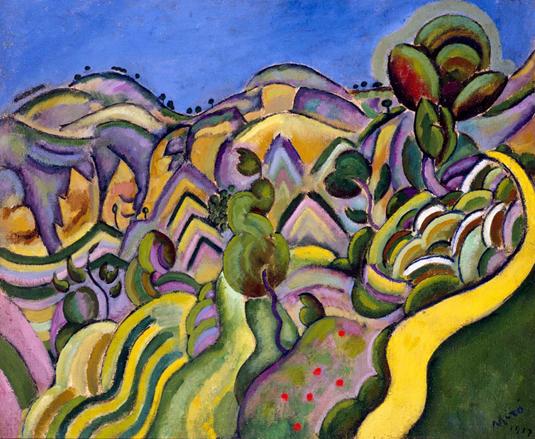 Siurana, el camino, de Joan Miró Siuran10