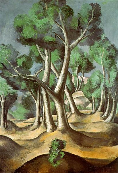 The Grove. André Derain The-gr10