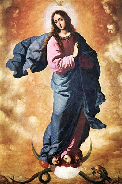 LaInmaculada Concepción. Francisco de Zurbarán The-im10