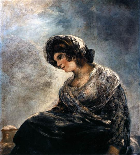 La lechera de Burdeos. Francisco de Goya The-mi10