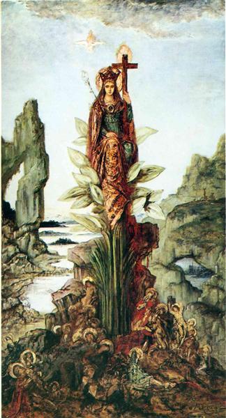 FLOR MÍSTICA. Gustave Moreau The-my10