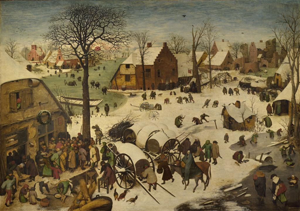 """""""El censo de Belén"""". Peter Bruegel Tumblr18"""