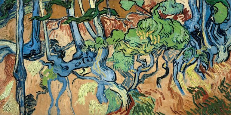 RAÍCES DE ÁRBOL.   Vincent Van Gogh  Van-go10
