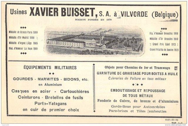 Brelage Belge 1940 en cuir Buisse10