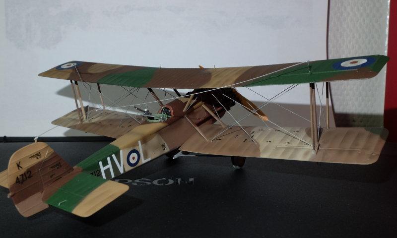 [ARMA HOBBY] Hurricane Mk I metal wing 1/72 -- 73sq Flight B James DENIS (FINI) Fini_a10