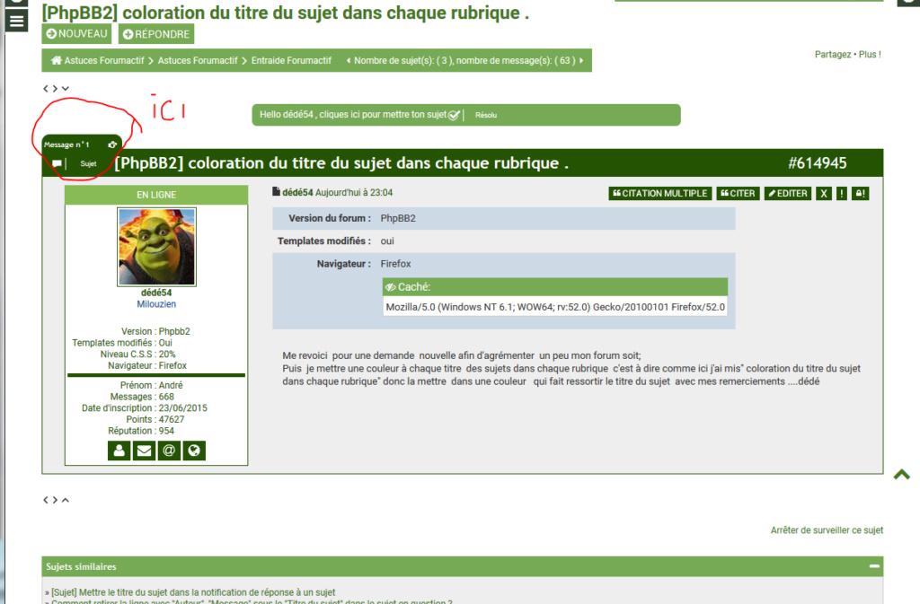 *RESOLU*[PhpBB2] Comme sur ce forum....capture écran jointe 115