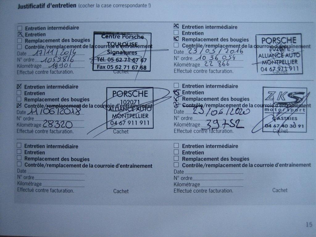 VENDS 997 GTS cab PDK 41 800 Km  Img_0020