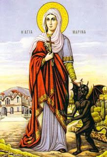Sainte Marina, un exemple pour les jeunes chrétiennes aujourd'hui Marina10