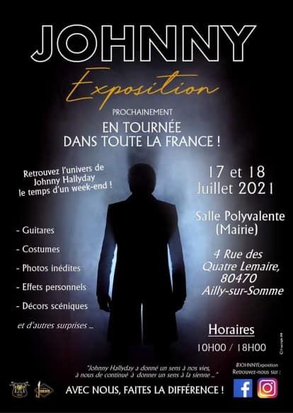 JOHNNY EXPOSITION dans la somme samedi 17 et dimanche 18 juillet  Ailly11