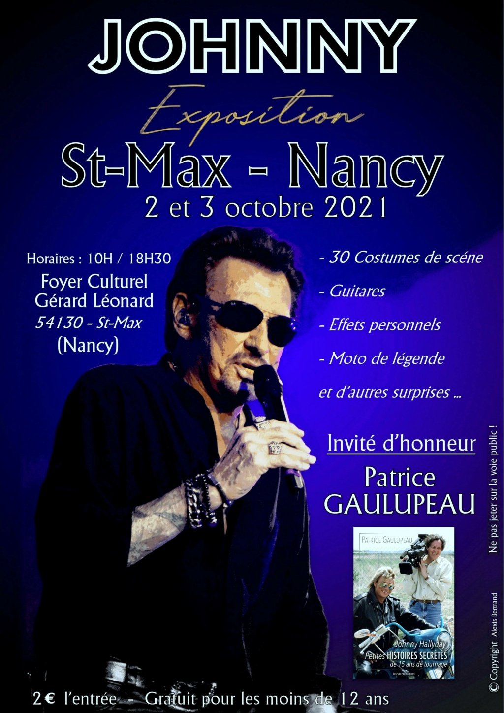 JOHNNY EXPOSITION A NANCY  Offici10