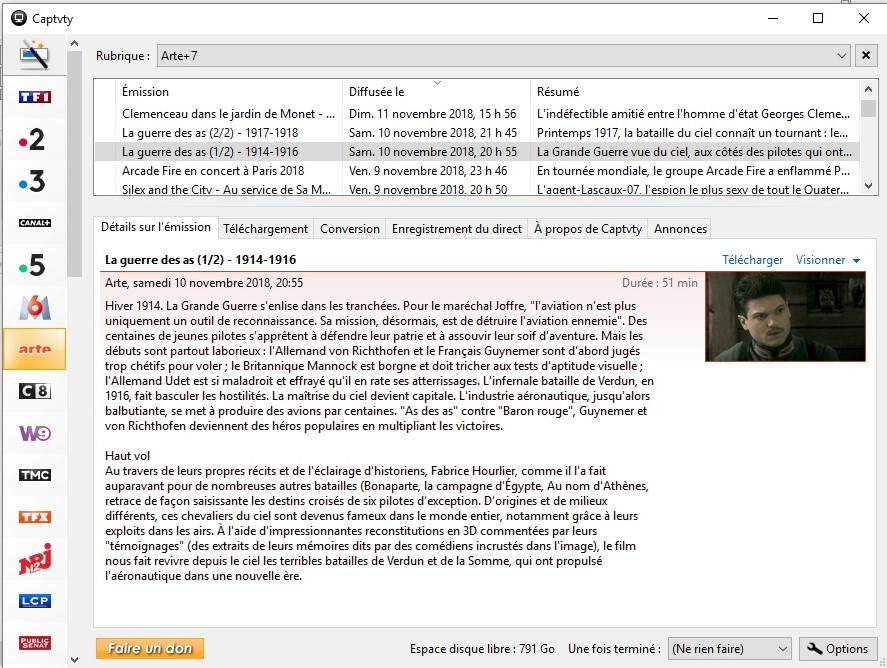 La guerre des As 1914-1918 ==> ARTE Sam 10nov Sans_t10