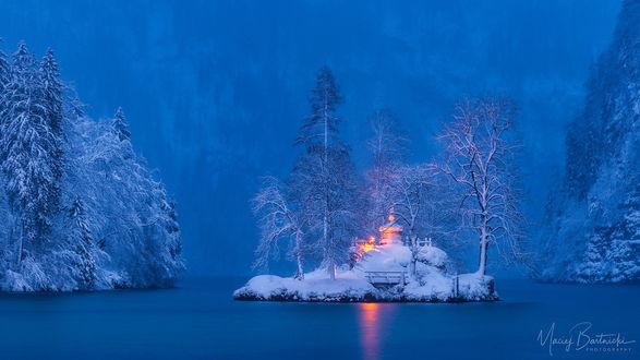 Zimski pejzaži-Winter landscapes - Page 3 Mid_2425