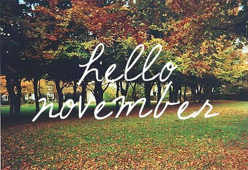 hello november Novemb10