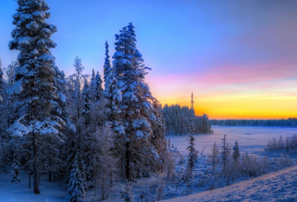 Zimski pejzaži-Winter landscapes - Page 22 Sunset76