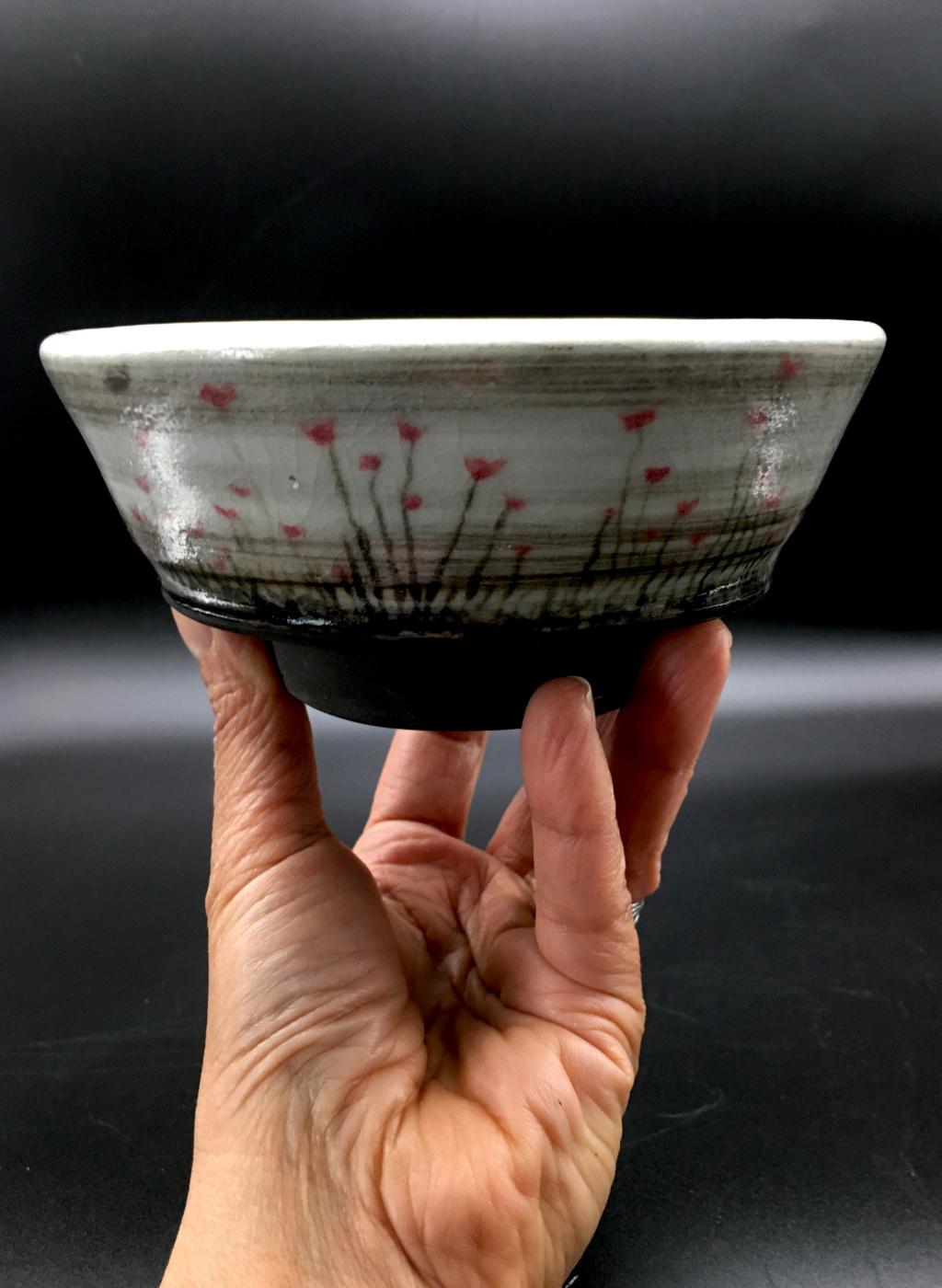 Unknown Bowl, MC mark - Margaret Curtis?  Rice_b10
