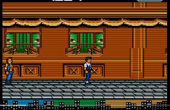 [ MSX 2 ]  NEW YORK KUNG-FU 1987 Tear10
