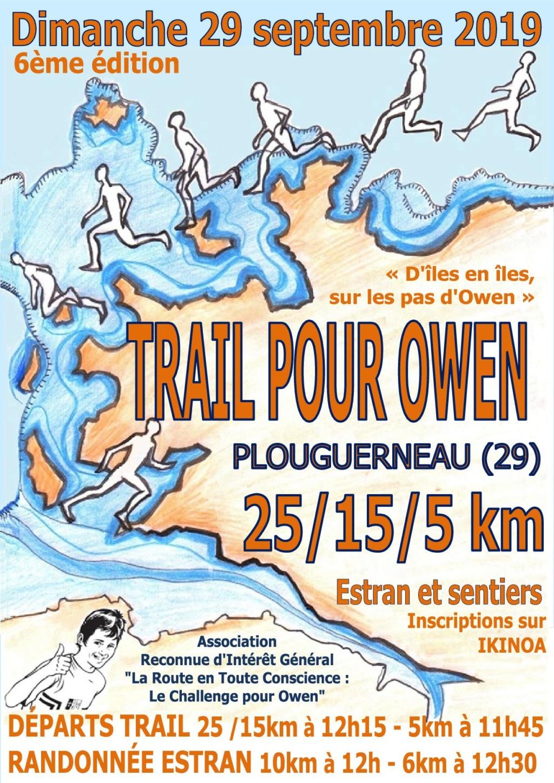 trail pour Owen dimanche 29 sept Affich10
