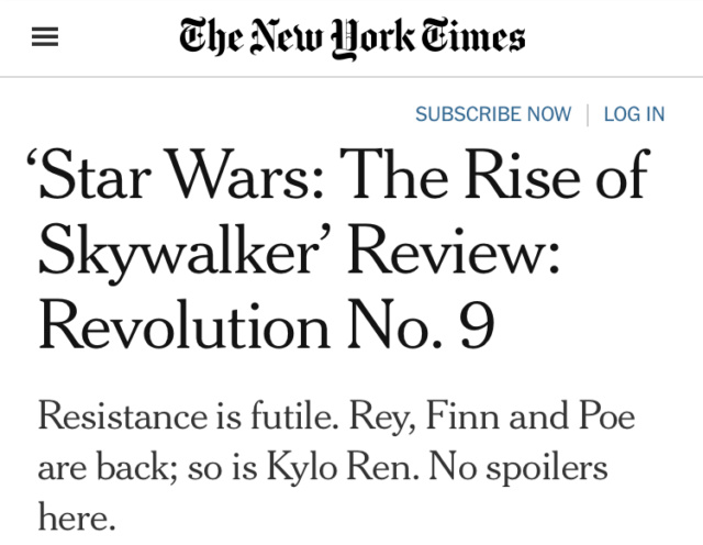 The Rise of Skywalker: Professional Reviews - Page 2 Cd4b9310