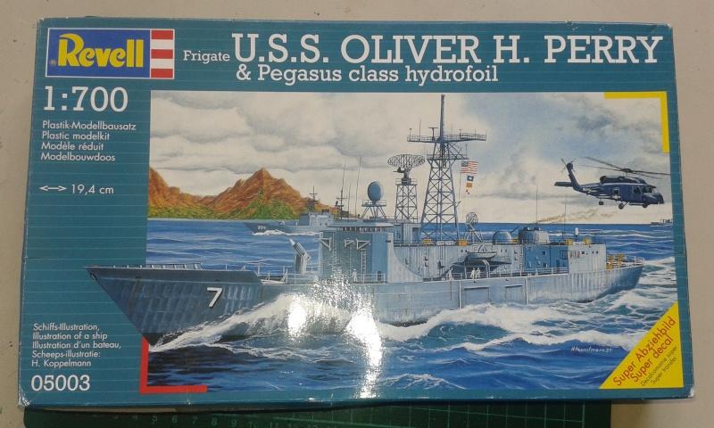 USS Kauffman - FFG 59 1/700 REVELL / PITTROAD   20150911