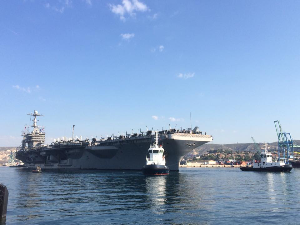L'USS Harry S. Truman à Marseille 35849010