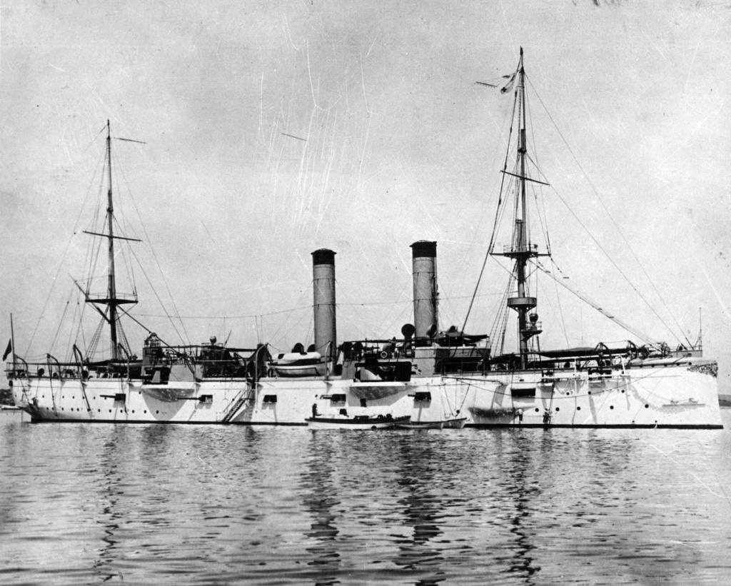 USS Chicago - croiseur protégé 1/700 COMBRIG Chi0810