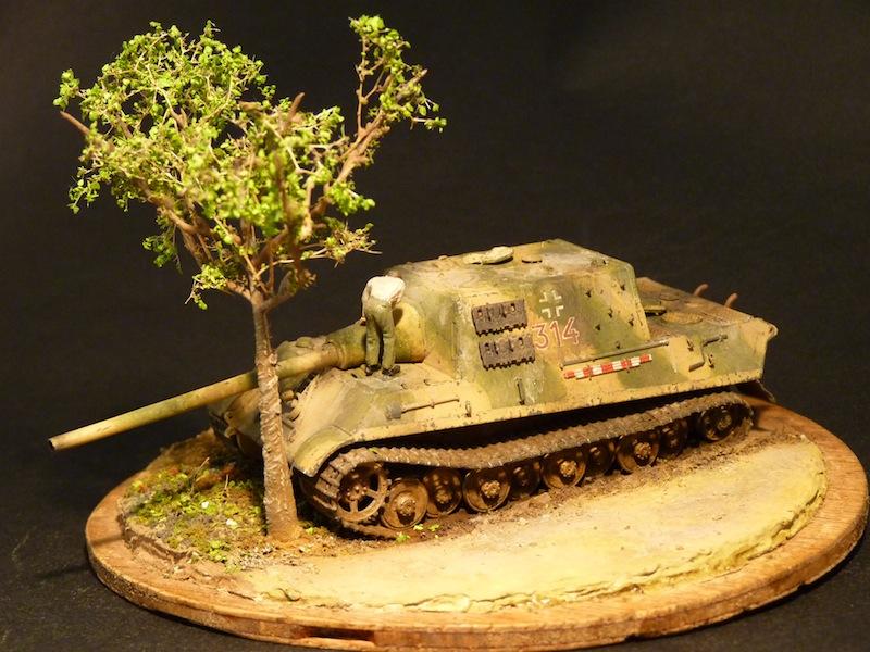 JagdTiger 128mm pak 44L-61 - 1/72 - Page 2 P1000711