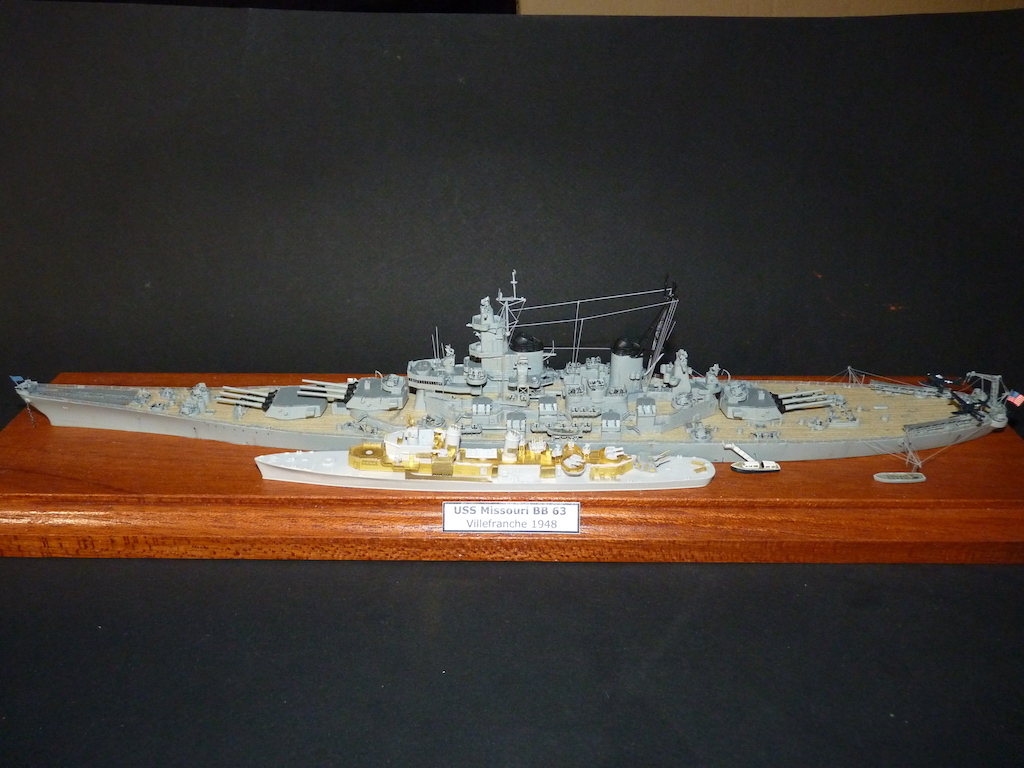 USS English - DD 696 1/700 PITT-ROAD/SKYWAVE - Page 3 P1110458