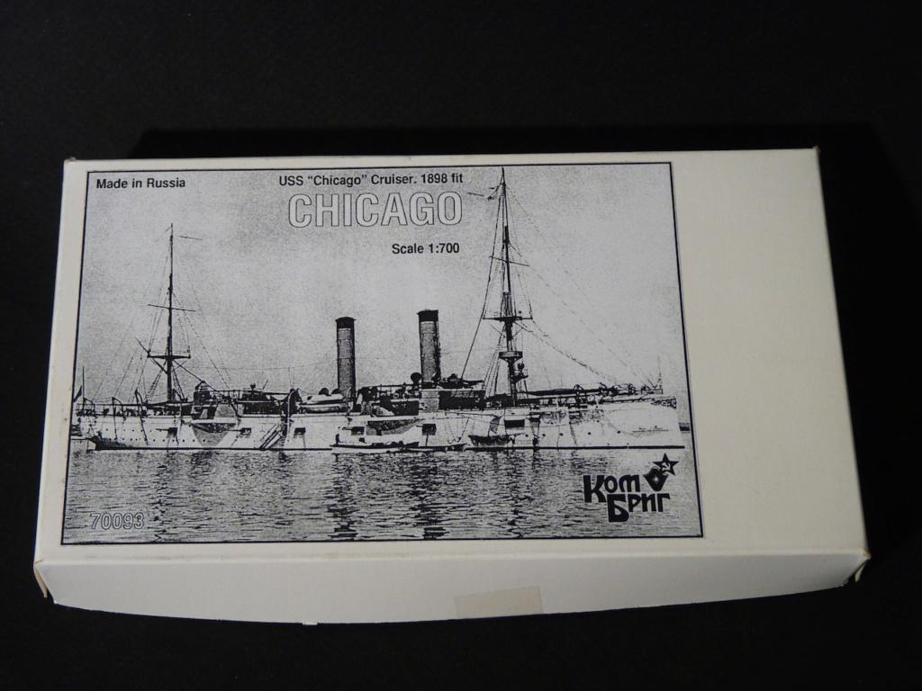 USS Chicago - croiseur protégé 1/700 COMBRIG P1110529