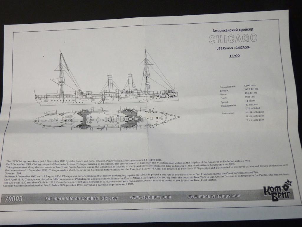 USS Chicago - croiseur protégé 1/700 COMBRIG P1110532