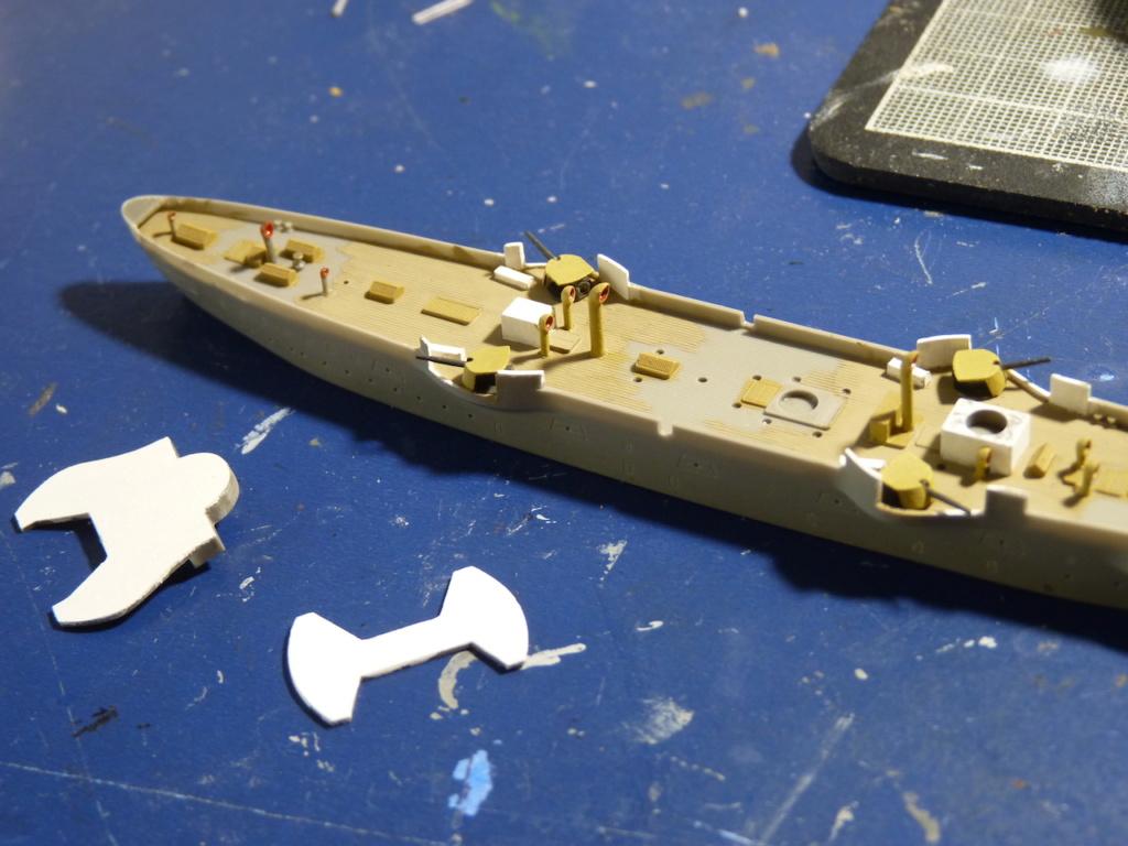 USS Chicago - croiseur protégé 1/700 COMBRIG P1110543