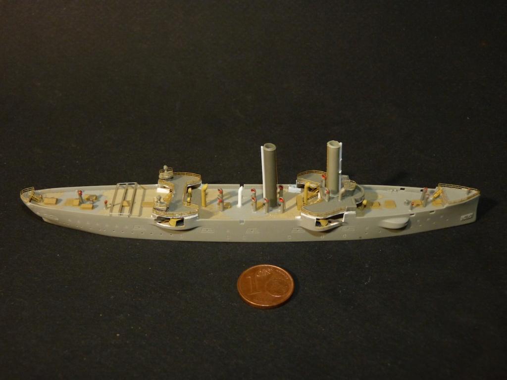 USS Chicago - croiseur protégé 1/700 COMBRIG P1110544