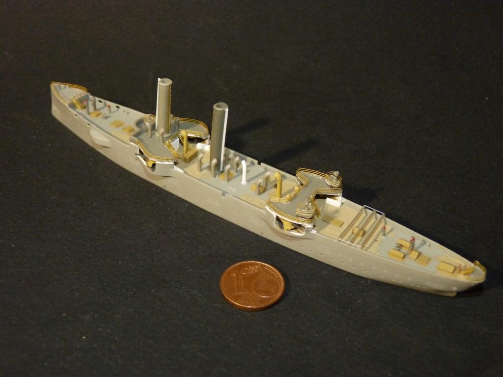 USS Chicago - croiseur protégé 1/700 COMBRIG P1110545